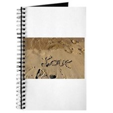 Unique Footprints sand Journal