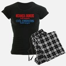 Mechanical vs. Civil Pajamas