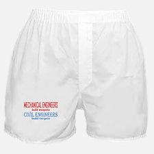 Mechanical vs. Civil Boxer Shorts
