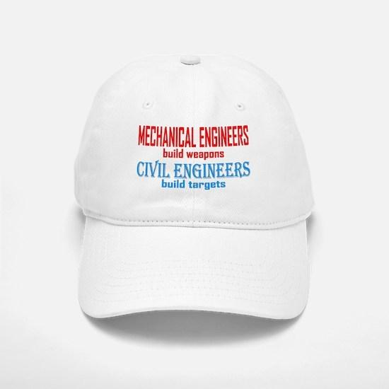 Mechanical vs. Civil Baseball Baseball Cap