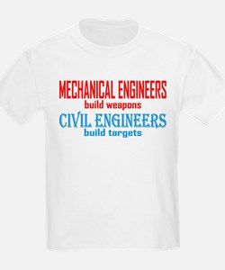 Mechanical vs. Civil T-Shirt