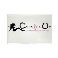 Cute Cowgirl Rectangle Magnet (10 pack)