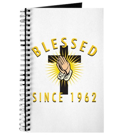 Blessed Since 1962 Journal