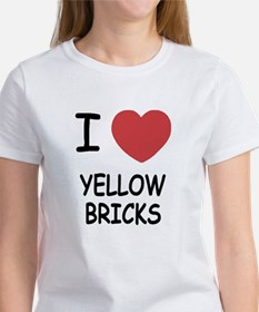I heart yellow bricks Tee