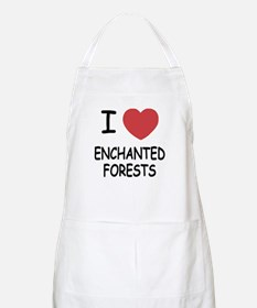 I heart enchanted forests Apron