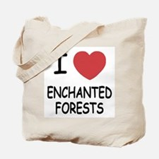I heart enchanted forests Tote Bag