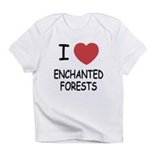 I heart enchanted forests Infant T-Shirt
