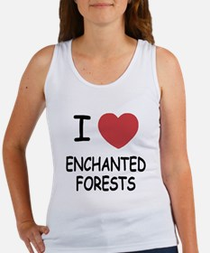 I heart enchanted forests Women's Tank Top