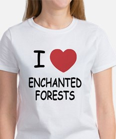 I heart enchanted forests Women's T-Shirt