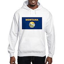 Montana Treasure State Flag Hoodie