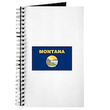 Montana Treasure State Flag Notebook