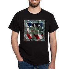 Army Gang Colors Black T-Shirt