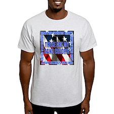 Navy Gang Colors Ash Grey T-Shirt
