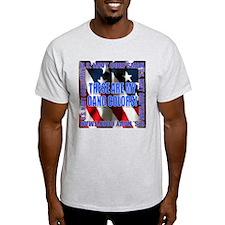 Navy Corpsman Gang Colors Ash Grey T-Shirt