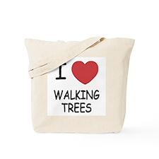 I heart walking trees Tote Bag