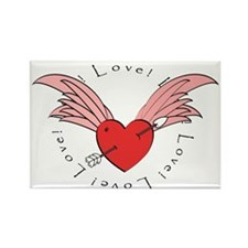Valentines Day Collection Rectangle Magnet