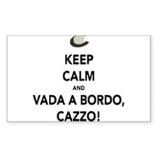 Keep Calm and Vada a Bordo Decal