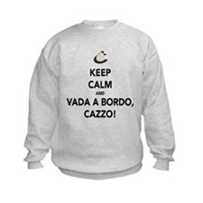 Keep Calm and Vada a Bordo Sweatshirt