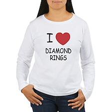 I heart diamond rings T-Shirt