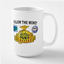 GREEDY UNIONS Large Mug
