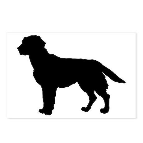 Labrador Retriever Silhouette Postcards (Package o