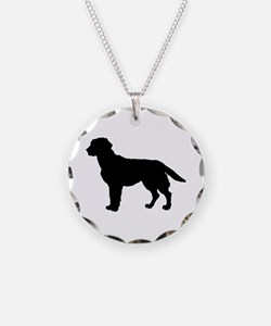 Labrador Retriever Silhouette Necklace