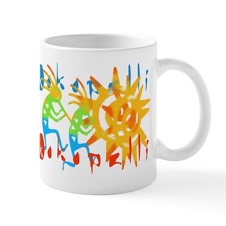 Colorful Kokopelli Mug