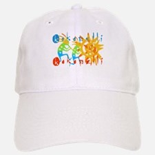 Colorful Kokopelli Baseball Baseball Cap