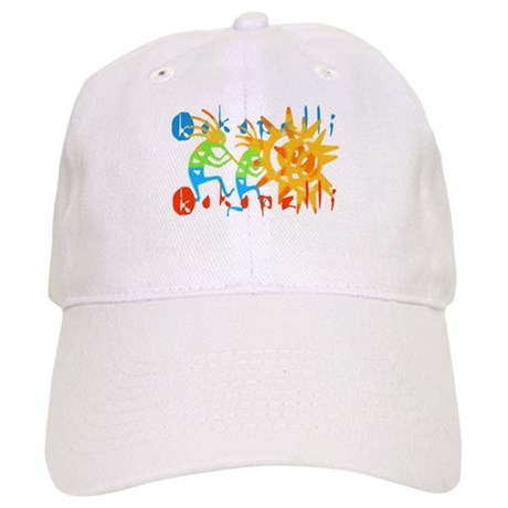 Colorful Kokopelli Cap