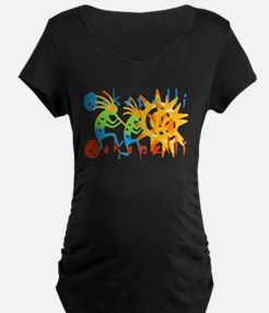Colorful Kokopelli T-Shirt