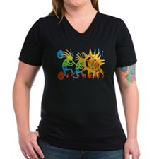 Colorful Kokopelli Shirt