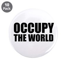 "Occupy The World 3.5"" Button (10 pack)"