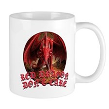 Dragon Don't Care Mug