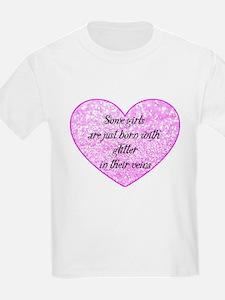 Girl Glitter T-Shirt