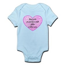Girl Glitter Infant Bodysuit