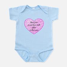Girl Glitter Infant Bodysuit