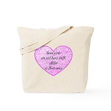 Girl Glitter Tote Bag