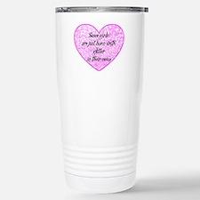 Girl Glitter Travel Mug