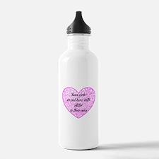 Girl Glitter Water Bottle