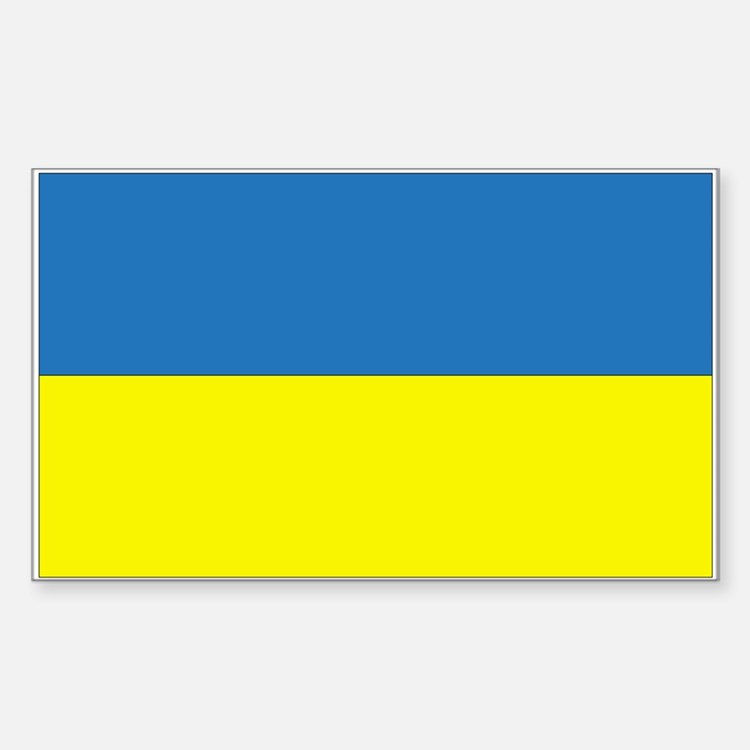 Ukraine Rectangle Decal
