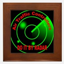 Air Traffic Controllers Do It Framed Tile