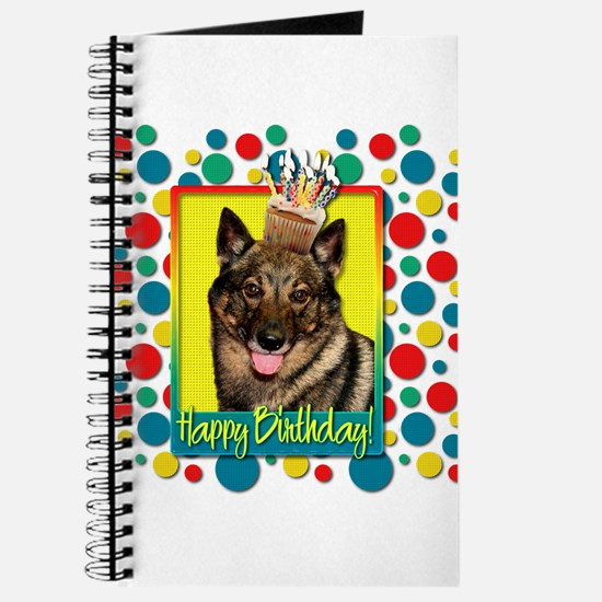 Birthday Cupcake - Vallhund Journal