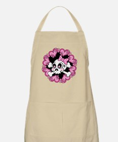 Cute Skull and Hearts Apron