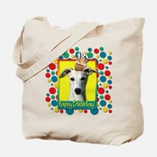 Birthday Cupcake - Whippet Tote Bag