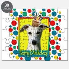 Birthday Cupcake - Whippet Puzzle