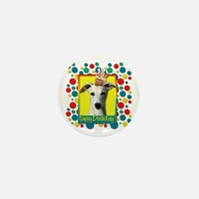 Birthday Cupcake - Whippet Mini Button