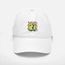 Birthday Cupcake - Whippet Baseball Baseball Cap