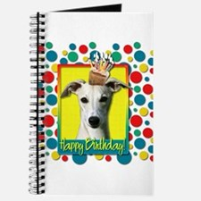 Birthday Cupcake - Whippet Journal
