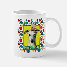 Birthday Cupcake - Whippet Mug