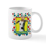 Whippets Small Mugs (11 oz)